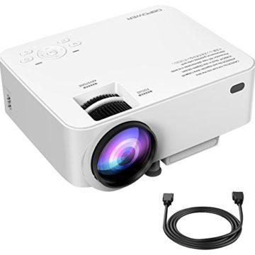 DBPower T20 mini movie projector